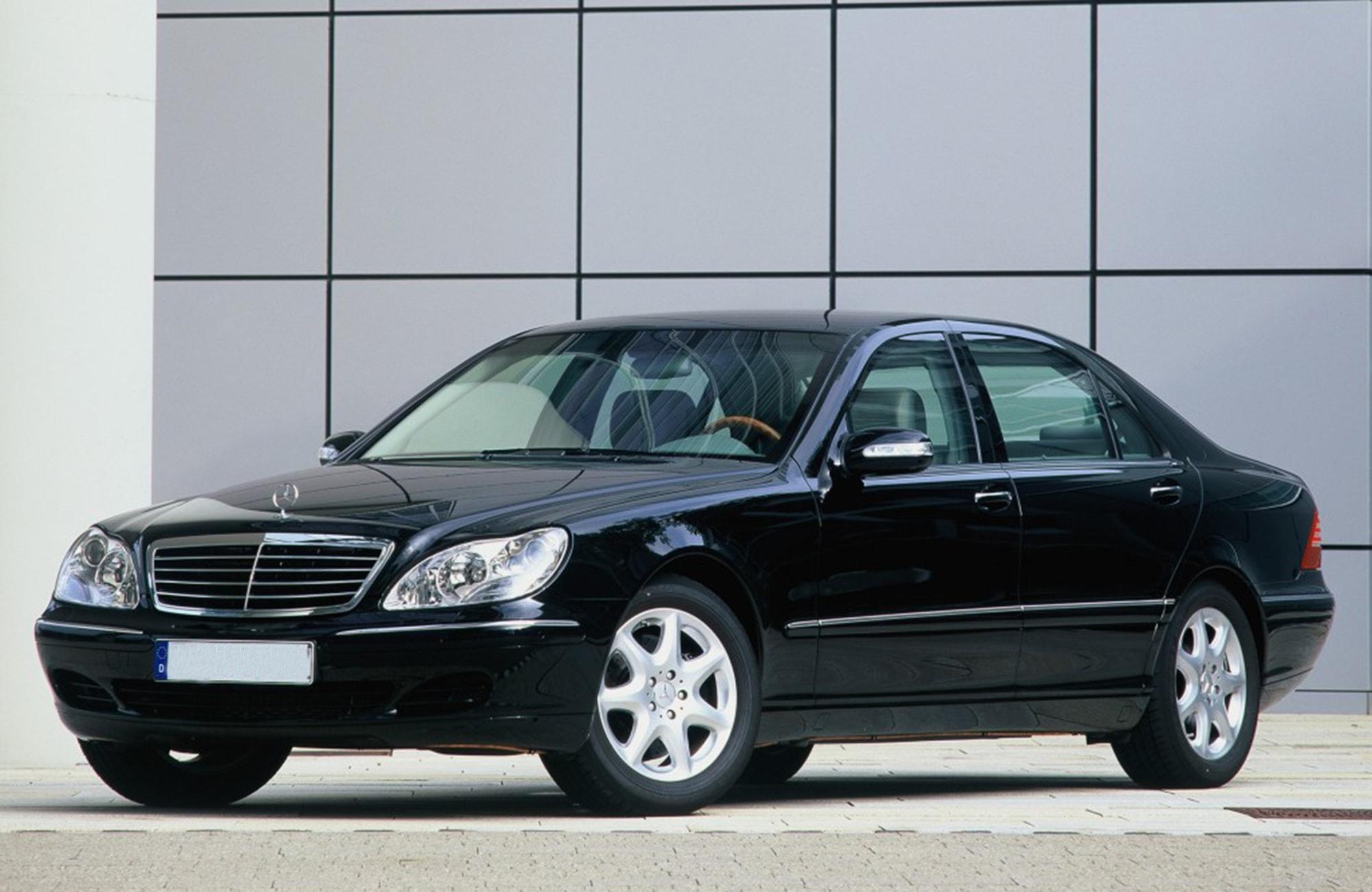 Mercedes-Benz S600 W220 GUARD Бронированный B6/B7