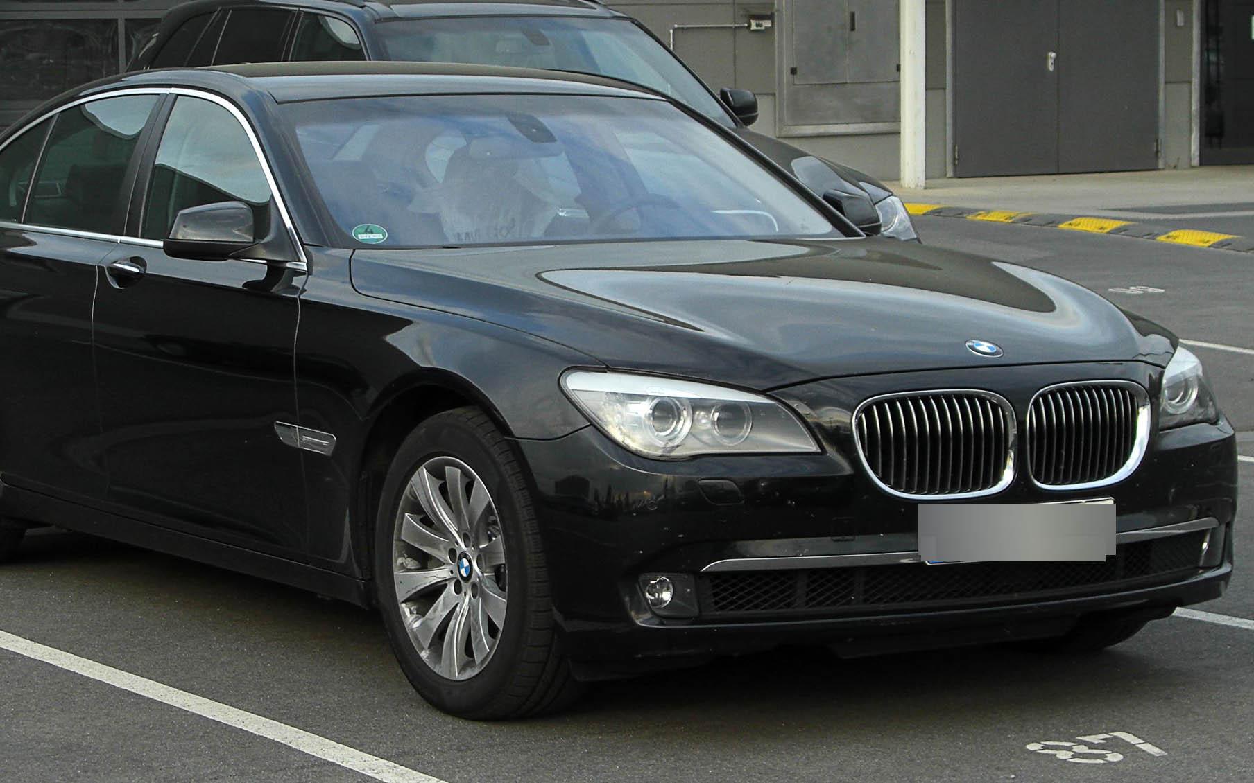 BMW 760I – 2012 GUARD Бронированный B6/B7