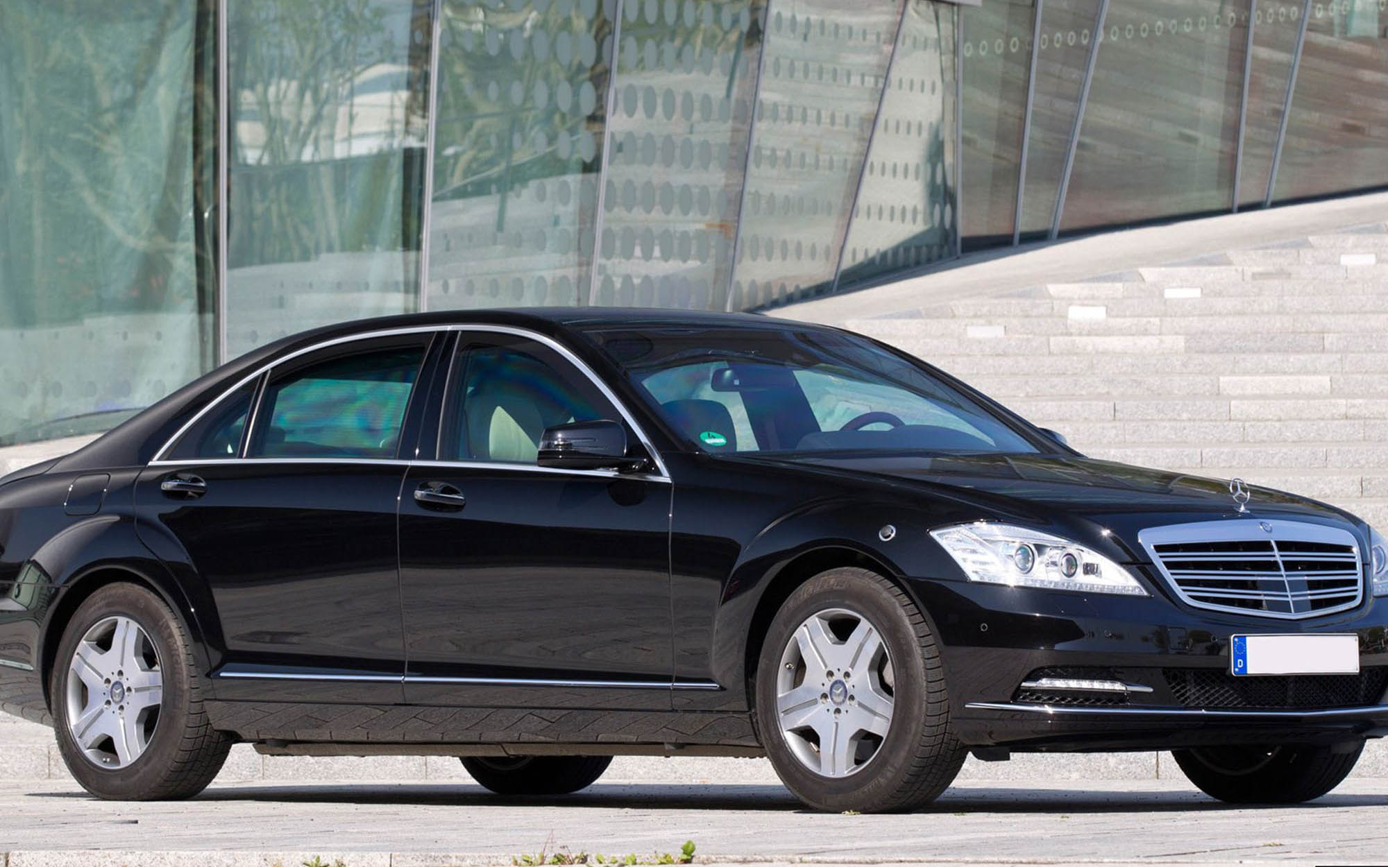 Mercedes-Benz S600 W221 GUARD Бронированный B6/B7