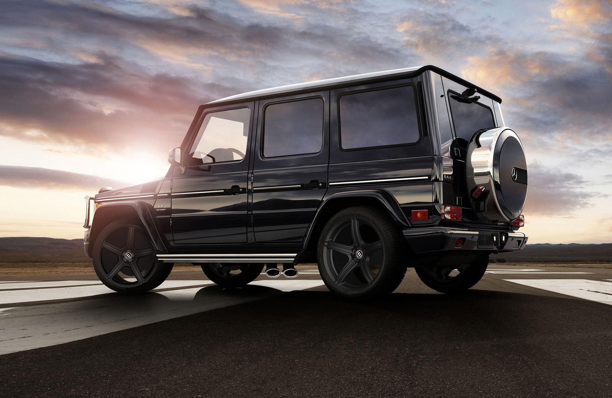 Mercedes-Benz G500 GUARD Бронированный B6/B7