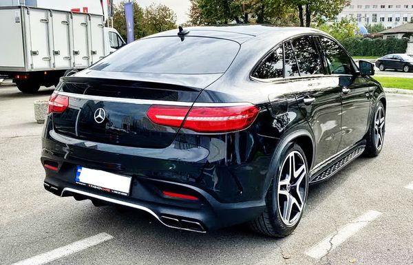 Mercedes GLE 43 AMG COUPE черный