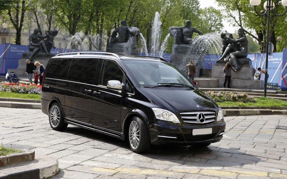 Mercedes-Benz Viano 4matik 2013