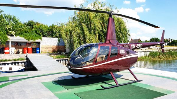 Нelicopter rental Robinson R66