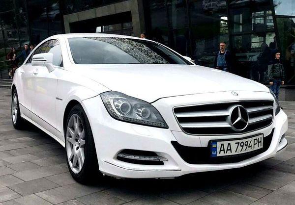 Mercedes CLS белый