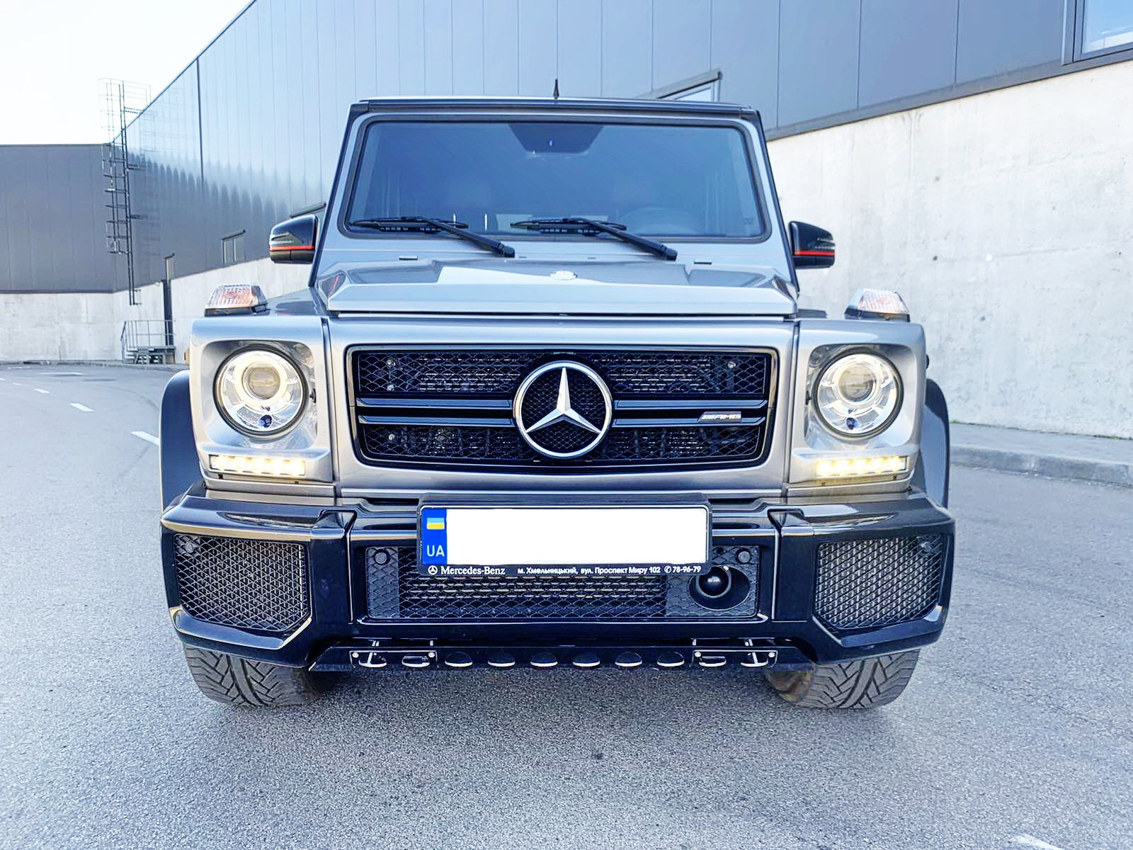 Mercedes-Benz G63AMG 5.5 BiTurbo Hrafit