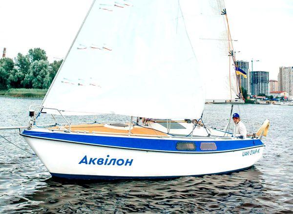 Прокат аренда парусной яхты на Днепре